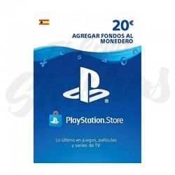 Tarjeta PSN 20€