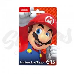 Tarjeta Nintendo 15€