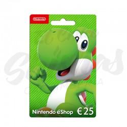 Tarjeta Nintendo 25€