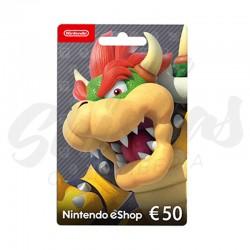 Tarjeta Nintendo 50€