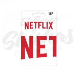 Tarjeta Netflix 15€