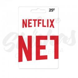 Tarjeta Netflix 25€