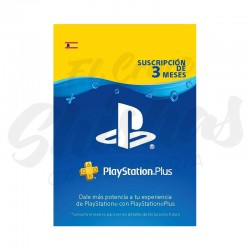 Tarjeta PS Plus 3 Meses